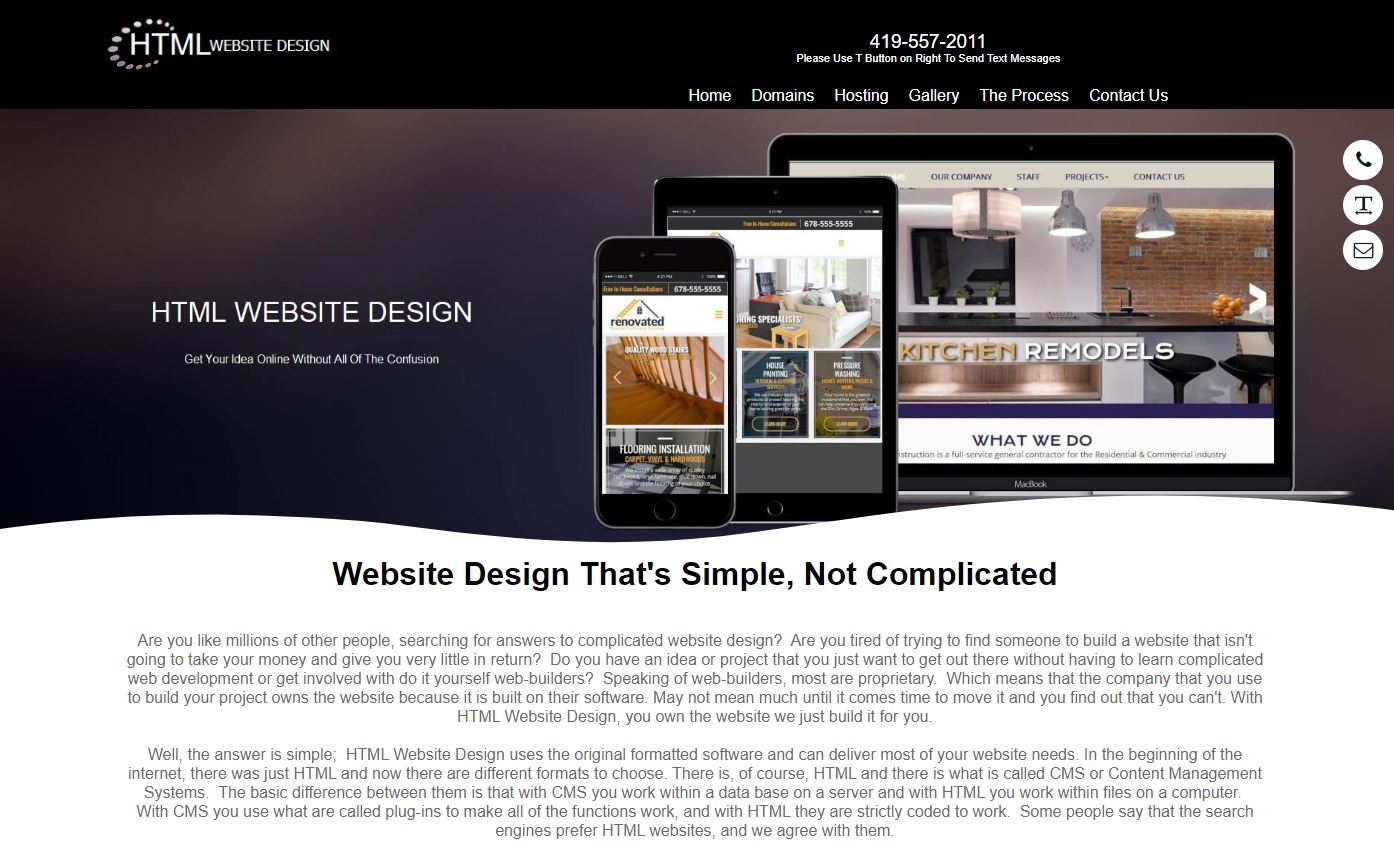 Zaggits HTML Website Design