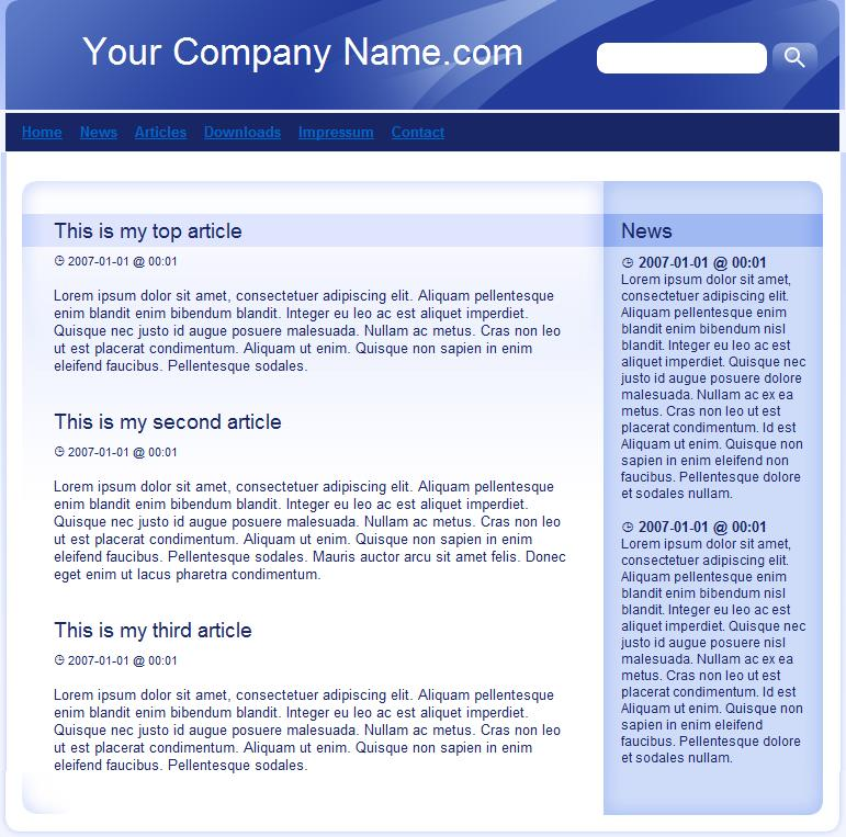 Template 5 is a sample that can be changed to give you an idea to get started building a website at Build Websites Cheap.